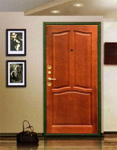 металлические двери с отделкой для баров