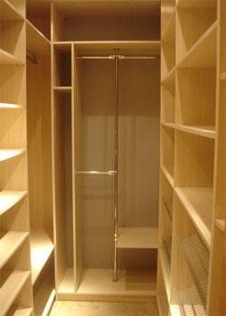 Как организовать гардеробные