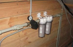 b Водопровод в частном доме /b- типовая.